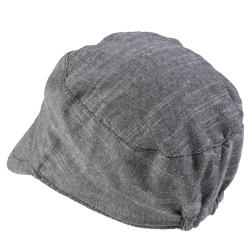 Hailey Jeans Co. Women's Button Accent Tweed Military Cap