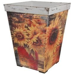 Rustic Sunflowers Planter (China)