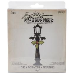 Sizzix Bigz BIGkick/Big Shot 'Holiday Lamppost' Die By Tim Holtz