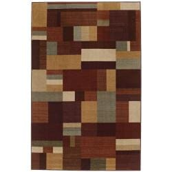 New Wave Earth Hue Multi Rug (5' x 8')