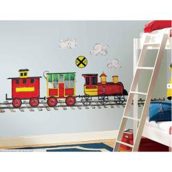 RoomMates All Aboard! Peel and Stick MegaPack Wall Decals