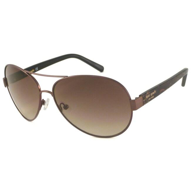 Kate Spade Alessia Womens Aviator Sunglasses