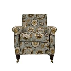 angelo:HOME Harlow Vintage Tapestry Blue Chair