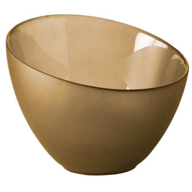 Medium Recycled Mustard Eclipse Bowl