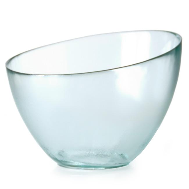 Large Recycled Clear Eclipse Bowl