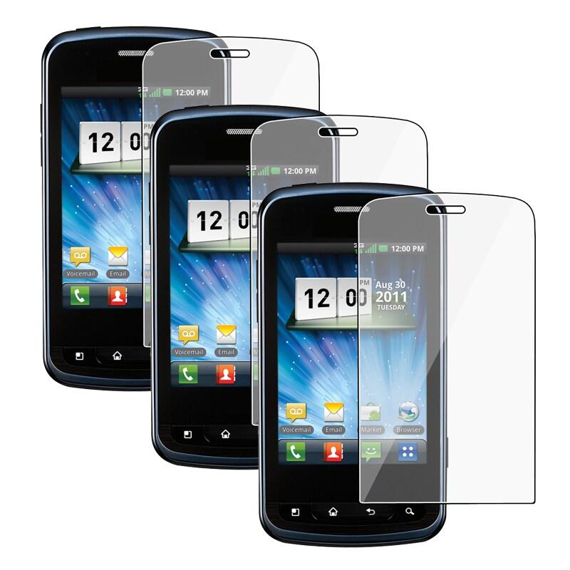 Screen Protector for LG Enlighten VS700 (Pack of 3)
