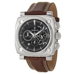 Timberland Men's 'Newbury' Stainless Steel Leather Quartz Watch