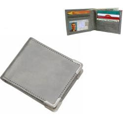 Flexible Stainless-Steel RFID Blocking Wallet