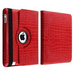 BasAcc Crocodile Case/ LCD Protector/ Headset/ Wrap for Apple iPad 2