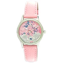 Croton Women's 'Tropics' Pink Genuine Leather Watch