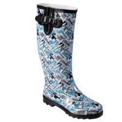 Hailey Jeans Co Women's Graphic Print Rainboots