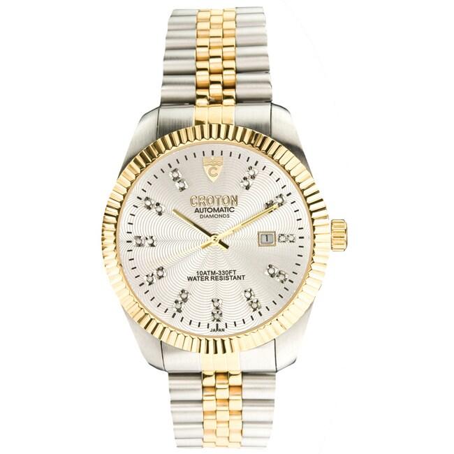 Croton Men's 'Croton' Two-tone Watch