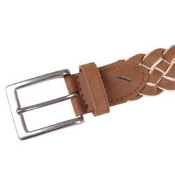 Nautica Men's Two-tone Braided Fashion Belt