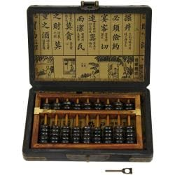 Black Lacquer Abacus (China)