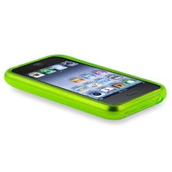 BasAcc Clear Green TPU Rubber Case for Apple iPhone 3G/ 3GS