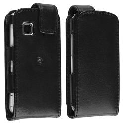 Black Leather Case with Belt Clip for Nokia N5230