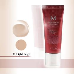 Missha M Light Beige Perfect Cover BB Cream Number 21