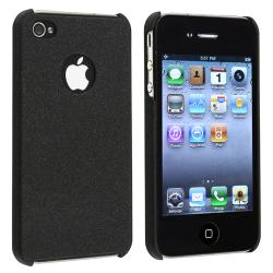 Black Matte Snap-on Case for Apple iPhone 4/ 4S