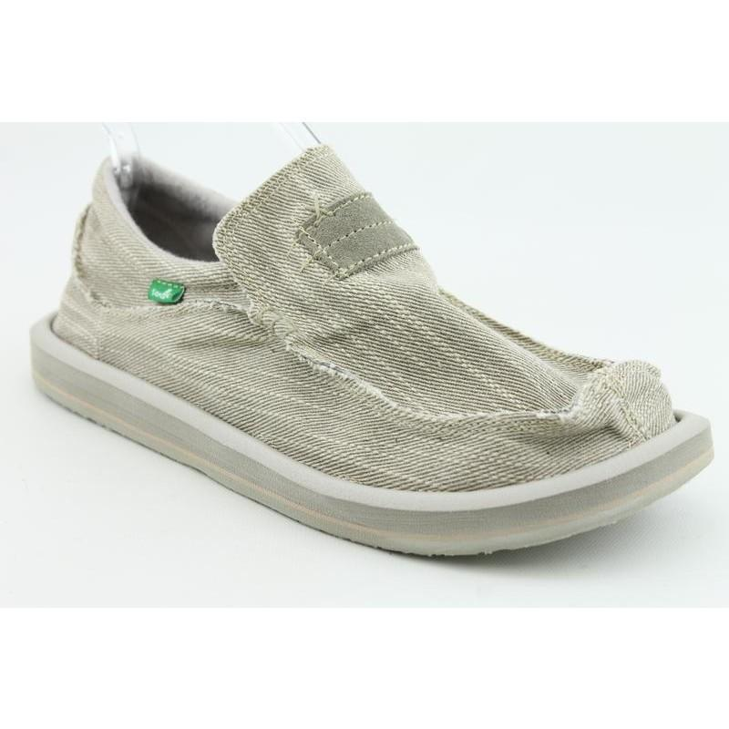 Sanuk Men's Kyoto Gray Casual Shoes (Size 9)