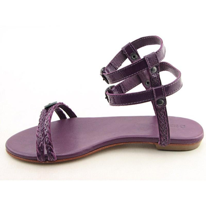 Awesome Diesel Thong Sandal In Black  Lyst
