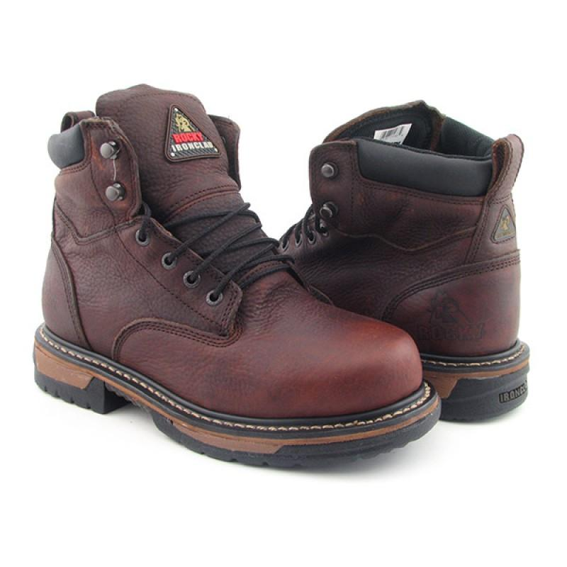 ROCKY Men's 5696 Iron Clad Brown Boots