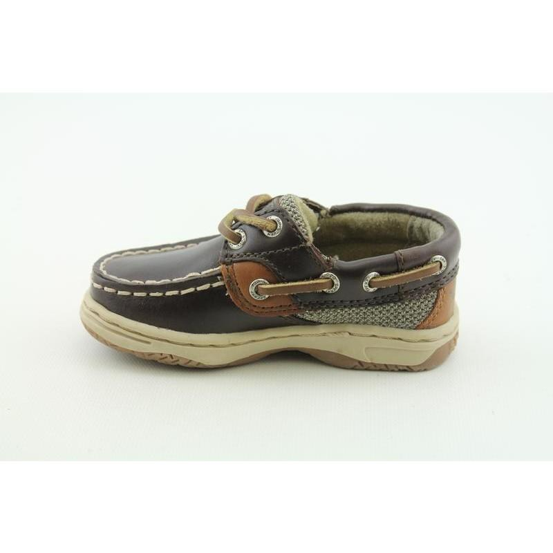 Sperry Top Sider Infant's Bluefish LC Brown Casual Shoes