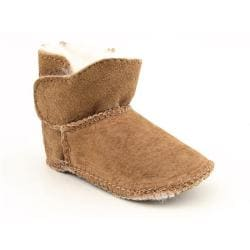 Emu Australia Infants Baby Toddler's Baby Bootie Brown Boots (Size 0-6 Months)