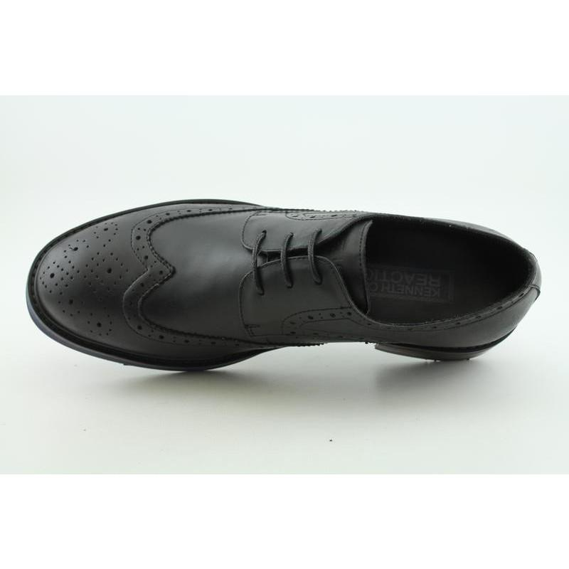 Kenneth Cole Reaction Men's Neat-ly Together Black Dress Shoes