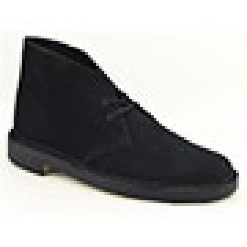 Clarks Originals Men's Desert boot Black Boots