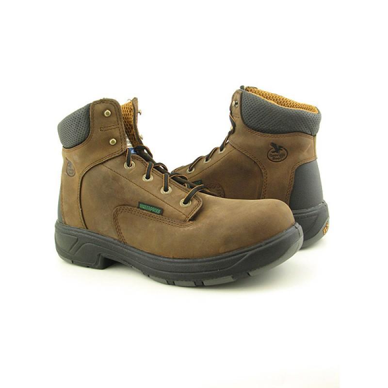 GEORGIA Men's G6644 Brown Boots (Size 10.5)