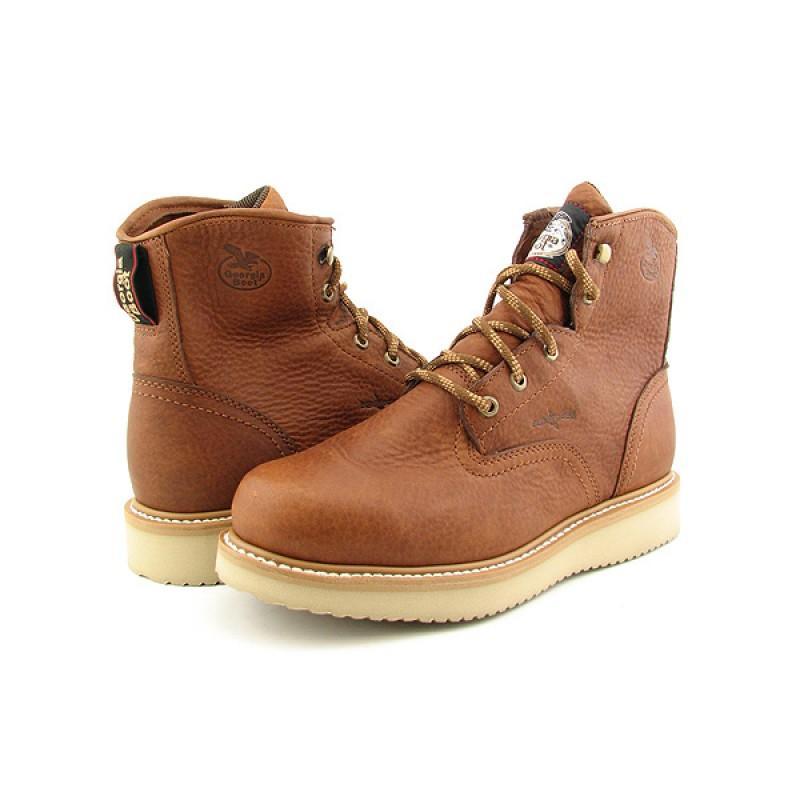 Georgia Men's G6152 Brown Boots