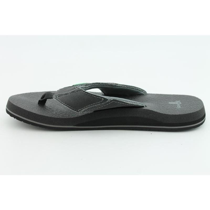 Sanuk Men's Fault Line Black Sandals