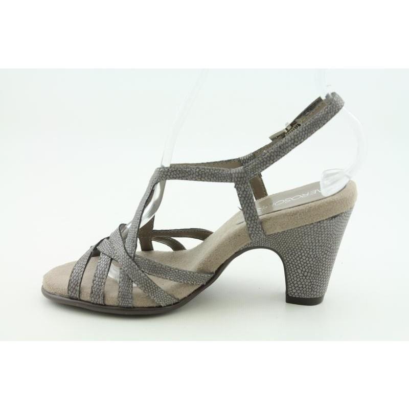 aerosoles s scot free gray dress shoes 14238890
