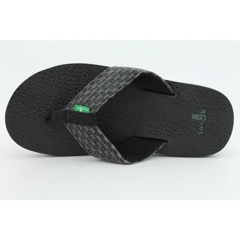 Sanuk Men's Yogi II Black Sandals