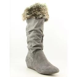 Report Women's Enfield Gray Boots (Size 9)