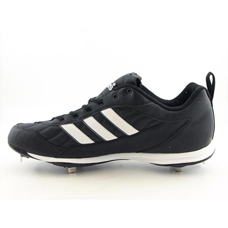 Adidas Men's Spinner III Black Athletic Baseball Cleats (Size 15)