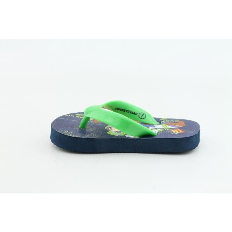 Disney Pixar Youth's Buzz & Woody Flip Flop Green Sandals