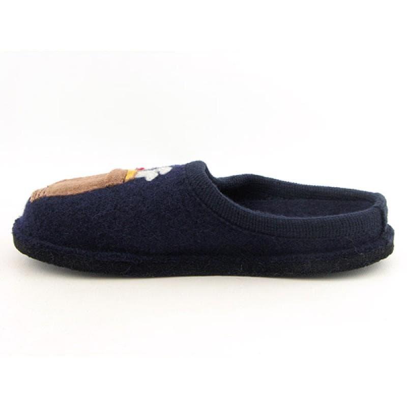 Haflinger Men's Golf Blue Slippers