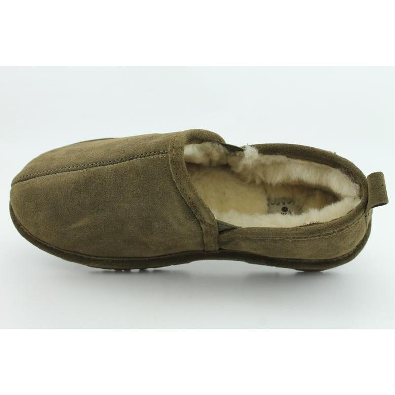 Bearpaw Men's 'Romeo II' Brown Suede Slippers