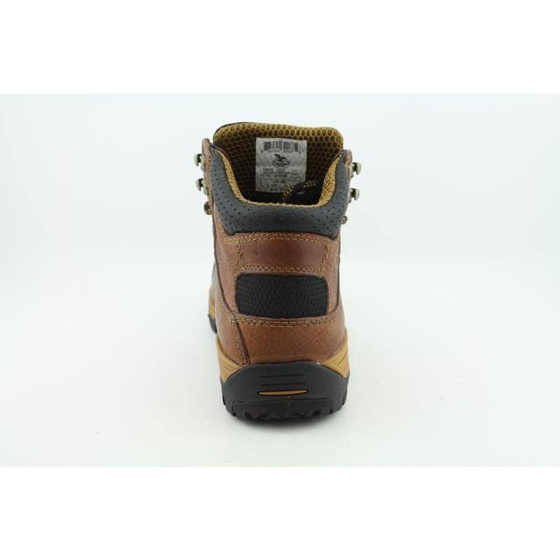 "Georgia Men's G6435 6"" Work GWP Diamond Trax Browns Boots"