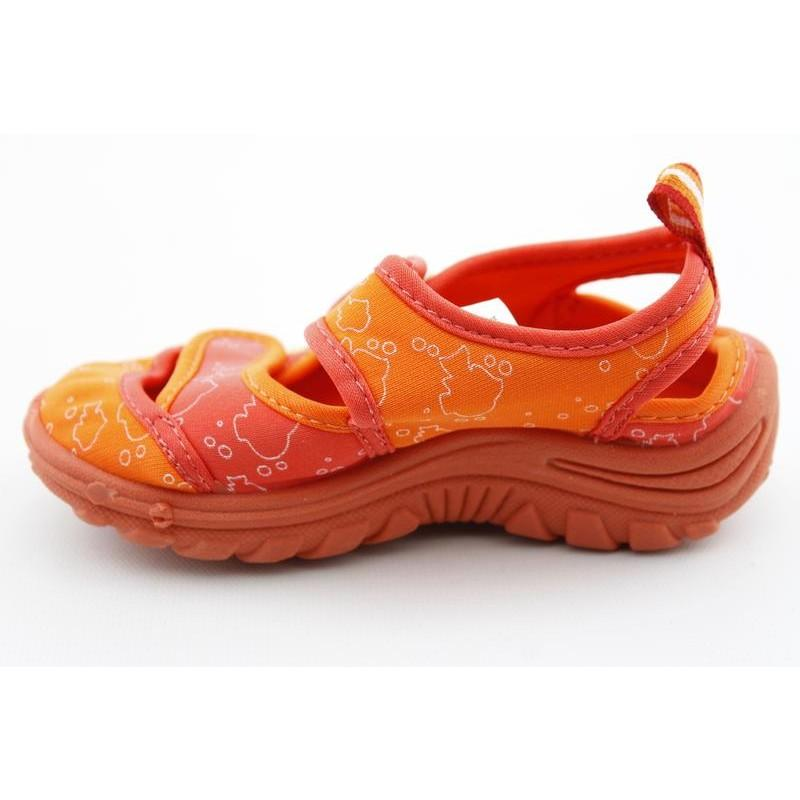 Sesame Street s Elmo Aqua Sock Oranges Sandals
