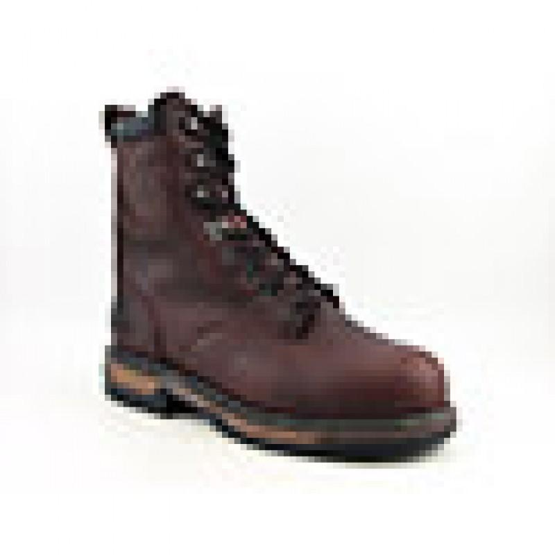 "Rocky Men's 8"" IronClad Brown Boots"