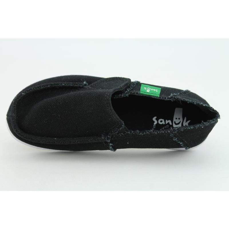 Sanuk Youth's Standard Kids Black Casual Shoes