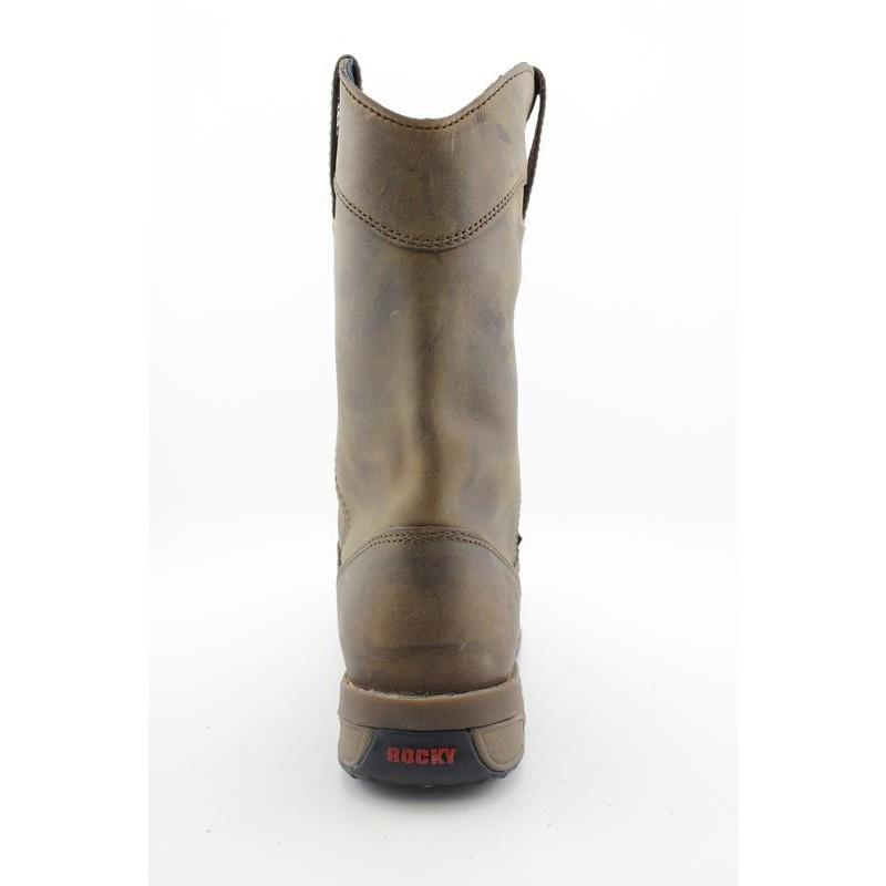 """Rocky Work Men's 5639 Aztec 11"""" Pull Down Browns Boots (Size 9.5)"""