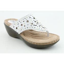 Clarks Artisan Women's Newland Dazzle White Sandals