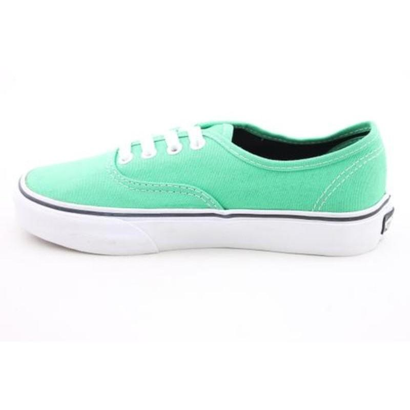 Vans Youth's Authentic Green Casual Shoes