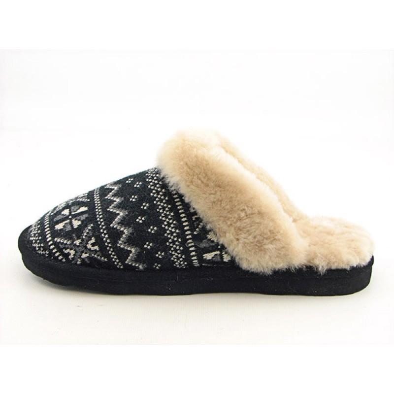 Bearpaw Women's Donner Black Slippers
