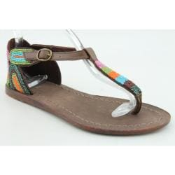 Diba Women's Jelly Bean Brown Sandals
