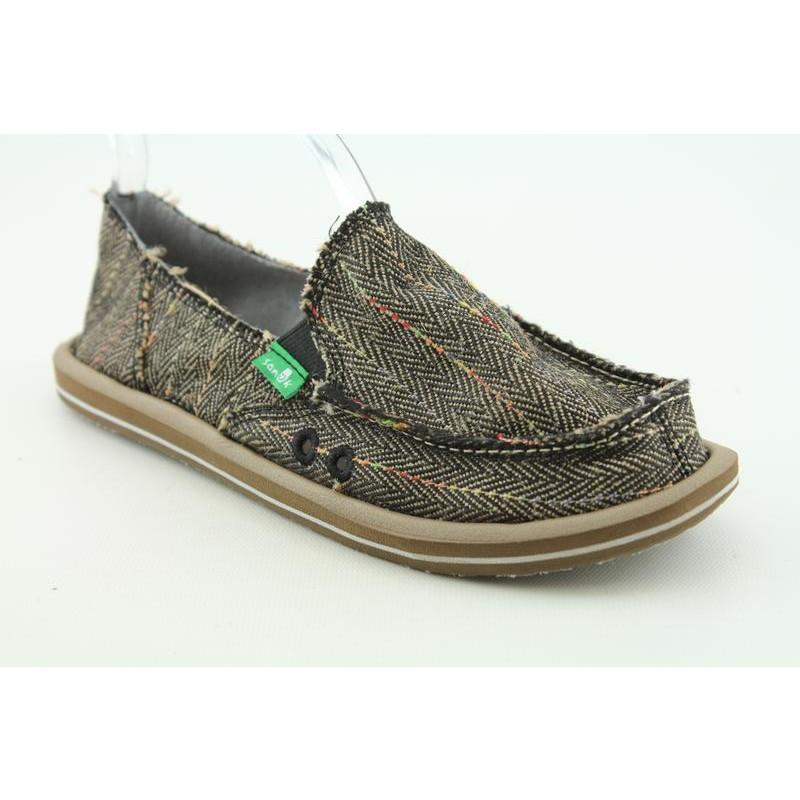 Sanuk Women's Donna Black Casual Shoes