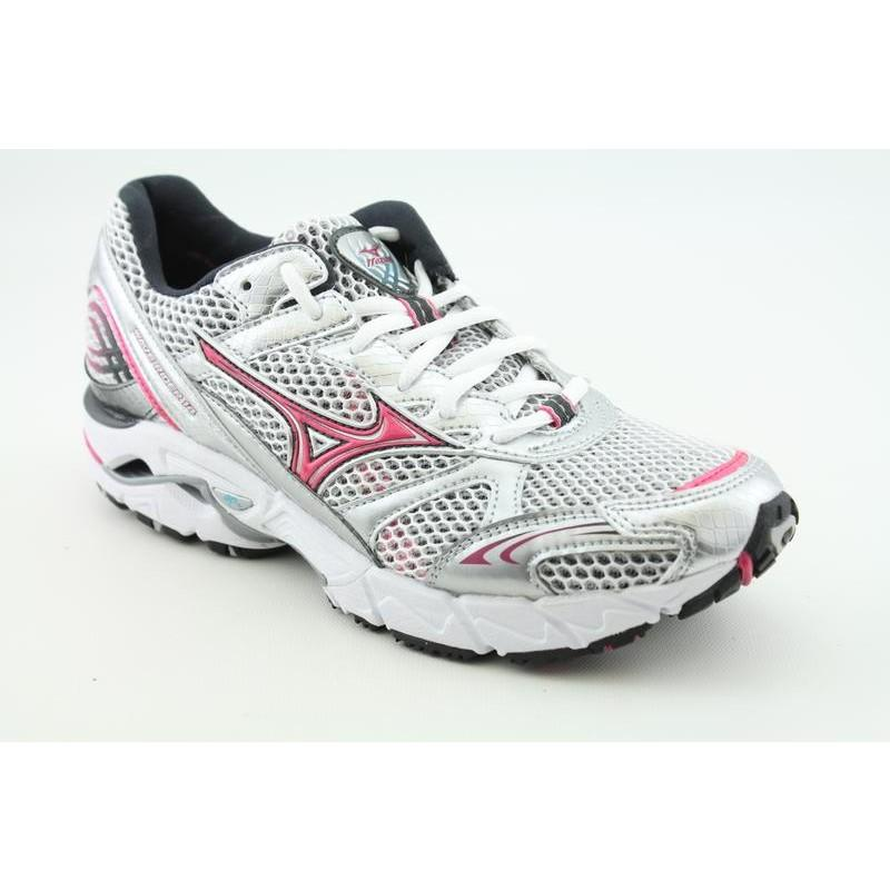 Mizuno Women's Wave Rider 14 Gray Athletic
